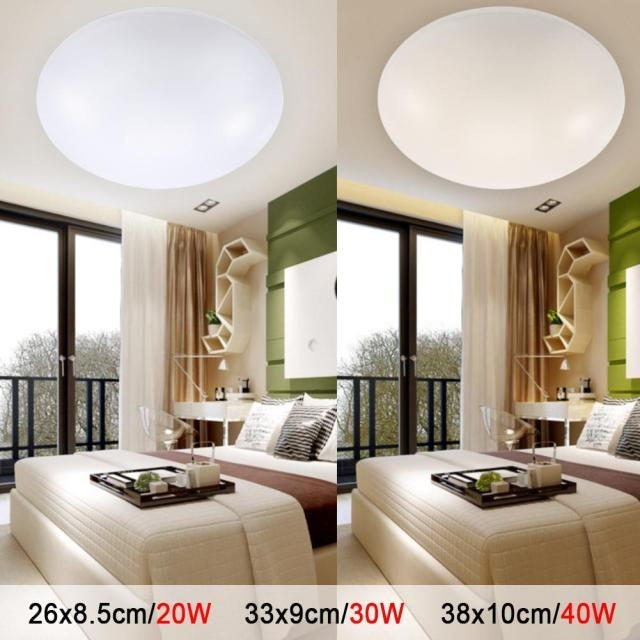 Cool Room Lighting: LED Ceiling Lights Dia 260mm Acrylic Warm White Cool White