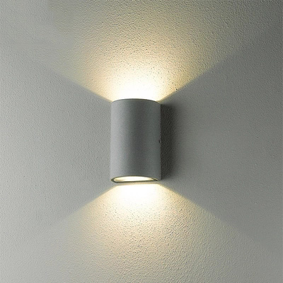 Waterproof Outdoor Wall Lamp 2*6W LED Source Up And Down Lighting Modern Minimalist Indoor Outdoor Porch Garden Light