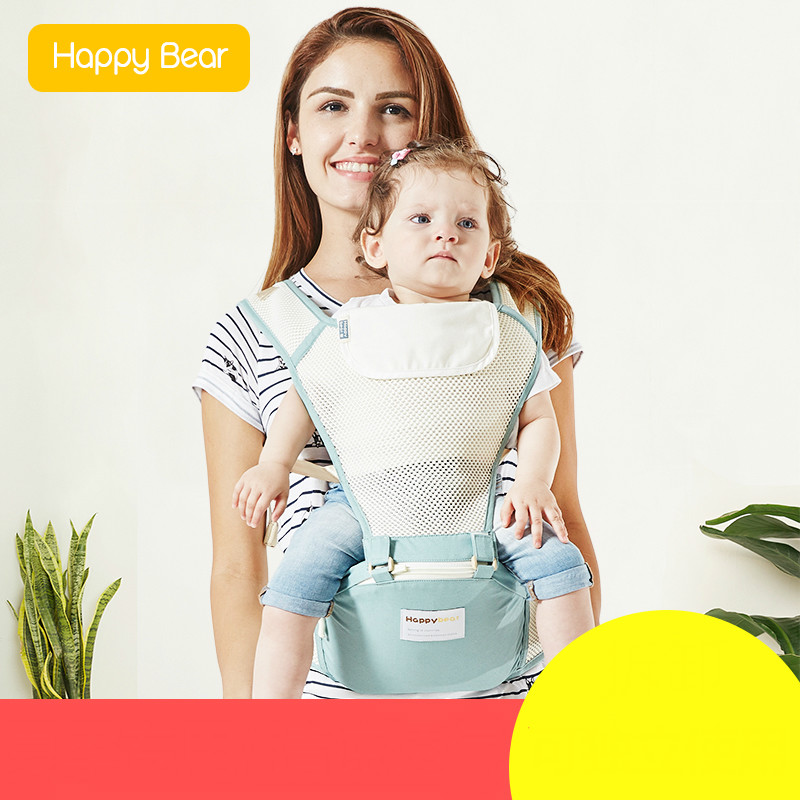Baby Backpacks Carriers Hold before the Multi-functional Breathable Baby Sit Lumbar Bench with Baby Four Seasons Universal happy bear multifunctional baby sling lumbar bended baby lumbar stool horizontal hold four seasons breathable and lightweight