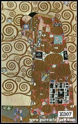 Achetez en gros klimt peintures l 39 huile en ligne des for Biographie de klimt