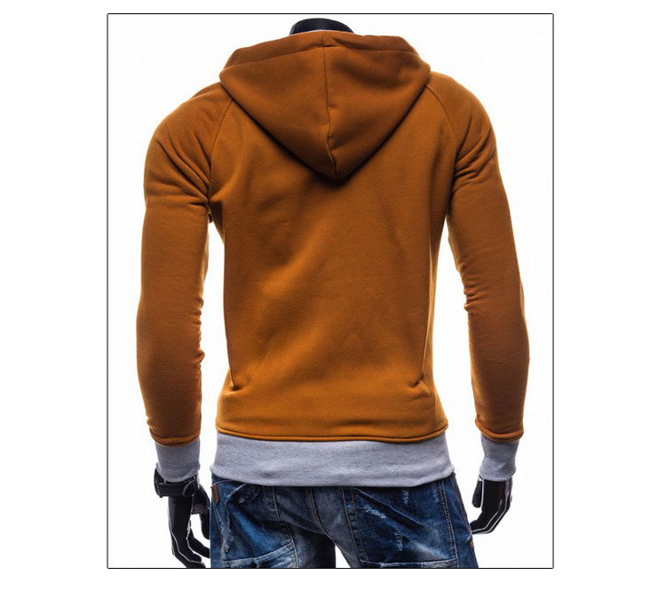 17 Hoodies Men Sudaderas Hombre Hip Hop Mens Brand Leisure Zipper Jacket Hoodie Sweatshirt Slim Fit Men Hoody XXL 3