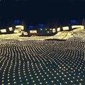 3 m * 2 m 200 LED Net Fada Luz Cordas Do Casamento Do Natal festa de Fadas Luz Da Corda com 8 Controlador de Função DA UE AU plugue