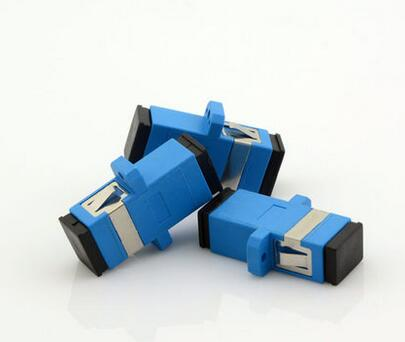100pcs New SC fiber optic adapter,SC flange coupler, SC/UPC adaptor, fiber coupler for digital communications