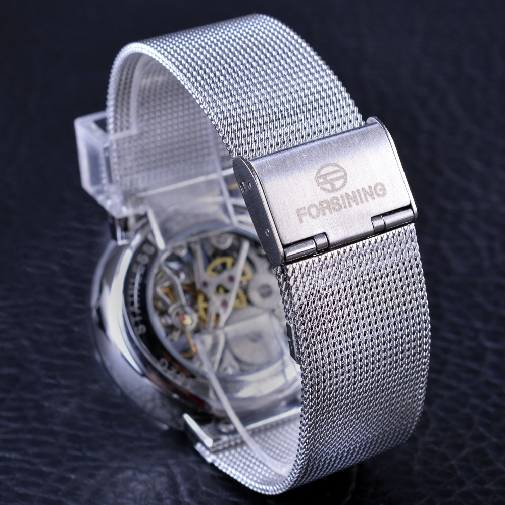 Forsining 2017 Μόδα Casual Ουδέτερη Σχεδίαση - Ανδρικά ρολόγια - Φωτογραφία 6