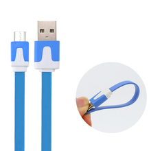 Usb-Cord Noodle Micro-Usb-Cable Data-Line Usb Male Huawei Fast-Charge Samsung To V8