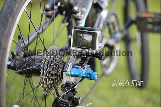 Aluminum Bicycle Mtb Mountain Bike Mount For Gopro Sjcam Sony
