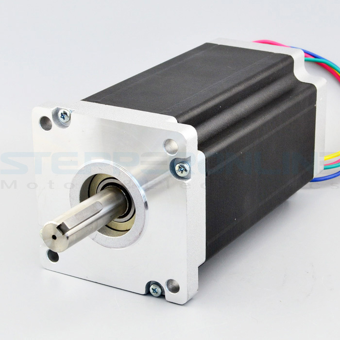 Nema 42 stepper motor CNC Motor 1.8 deg bipolar High Torque Keyway shaft 30Nm(4248oz.in) 4 leads 110x110x201mm for CNC router keyway broach 8mm c push type metric size broach high speed steel keyway cutting tool for cnc router