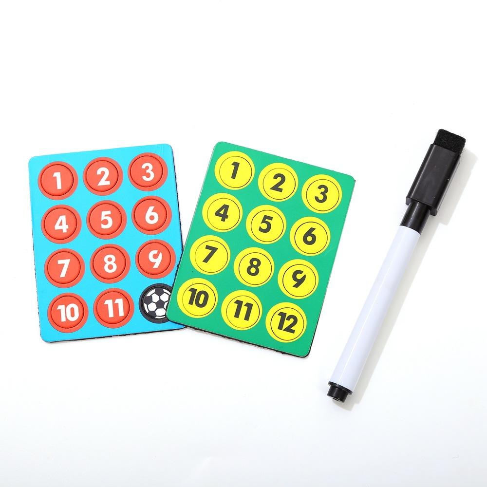 Foldable Magnetic Leather Football Tactic Board (1)
