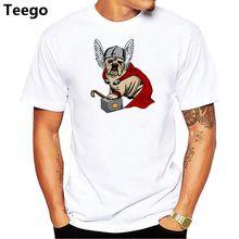 5c0dffd7 Antidazzle Myth Character Design Fat Funny Thor Summer t shirt Comics  Printed Tshirt