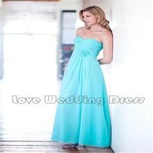 Off The Shoulder Chiffon Bridesmaid Dresses Flowers A Line Ankle Length Bridesmaid Dress Ruched Pleats Draped Vestido De Festa
