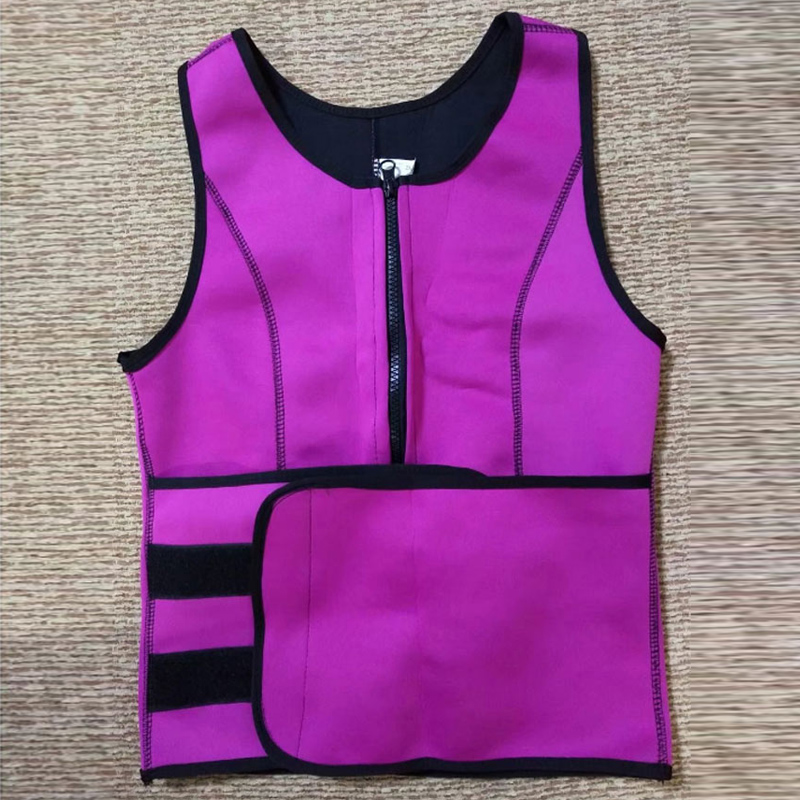 2018 Slimming Products Neoprene Slimming Vest Slimming Corset Belt Waist Back Trainer Women Plus Size Fat Burning Weight Loss