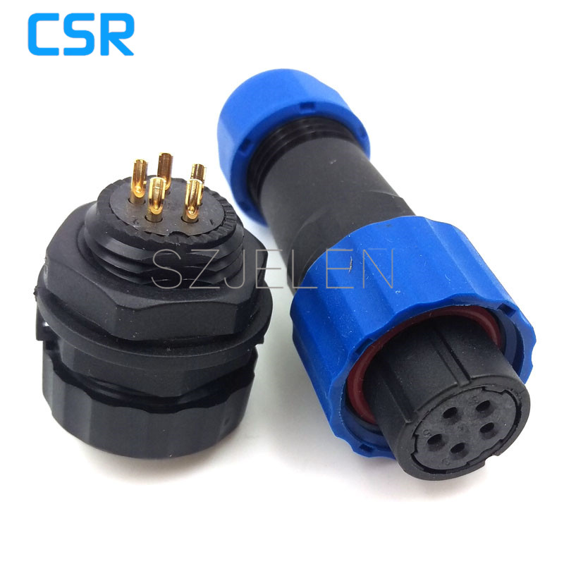 SD16 , 5 pin Outdoor waterproof connector plugs and sockets, Opening size 16mm, IP68, LED power cable connector, Male and female waterproof connectors 8pins fgg 1k 308 clad egg 1k 308 cll push pull self locking connector plugs and sockets 8pins