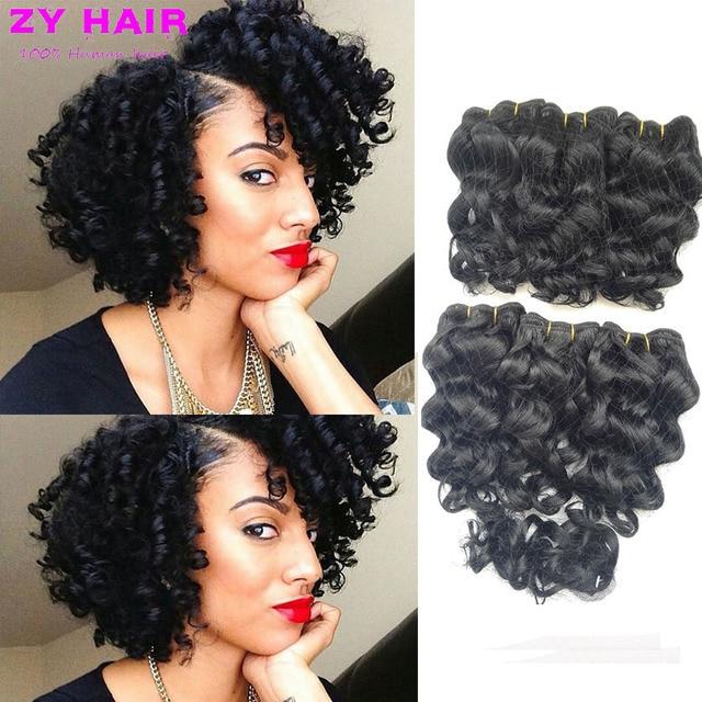 8 Short Body Wave Weave Barato Deep Loose Weave Hair Style Armadura