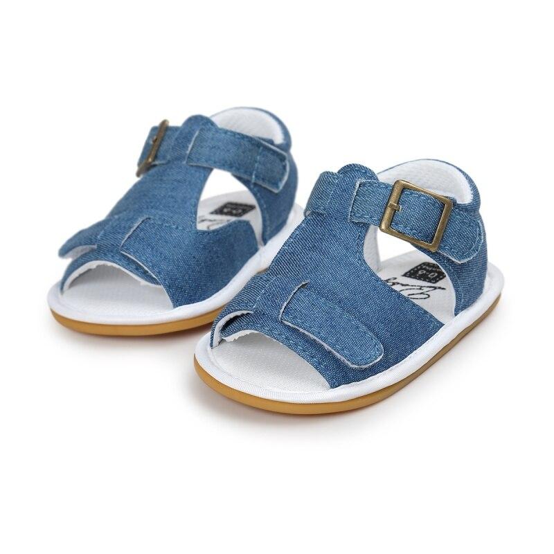 Baby Kid Sandals Crib Summer Anti-Slip PU Shoes Soft Baby Girls Shoes USA Shipping