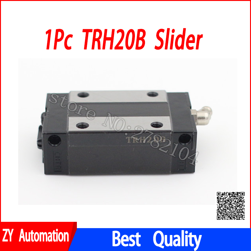 1pc TRH20B slider block match use TRH20 linear guide for linear rail CNC diy parts hgh20ca slider block hgh20 ca match use hgr20 linear guide for linear rail cnc diy parts