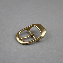 1-1/2;;(38mm) Hally Solid Brass Center Bar Buckle BOR Finish