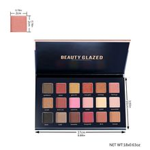 Beauty Glazed 1PC Women Sexy Nude Makeup palette eyeshadow Fashion Waterproof Professional pallete matte Set