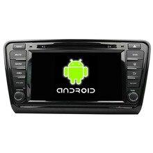Quad Core 1024*600 Android 5.1.1 Fit Skoda OCTAVIA 2014 2015 Car DVD Player GPS TV Radio navigation
