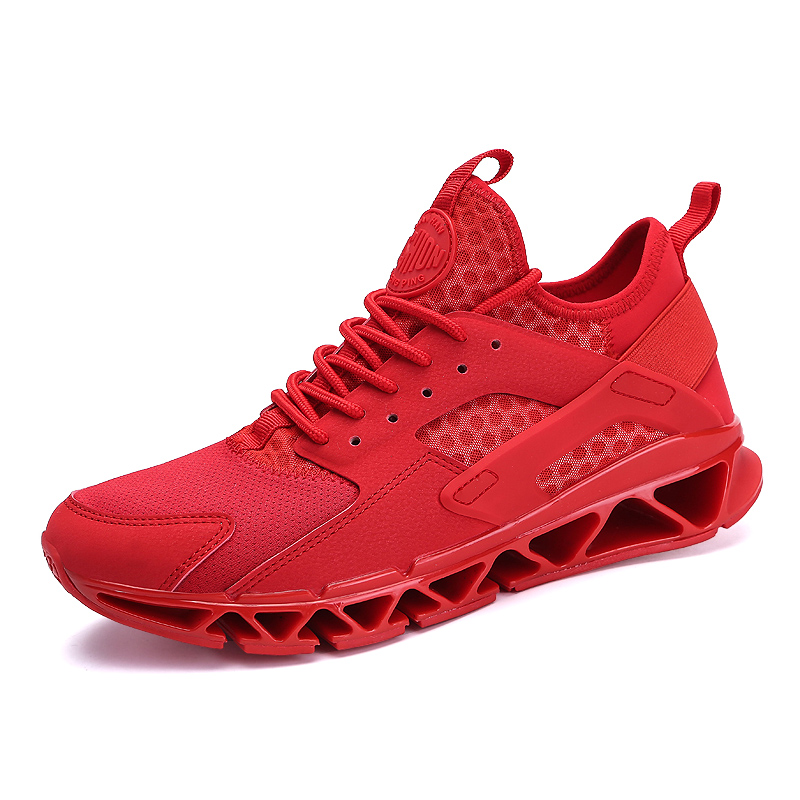 Mens 2018 Sport Running Shoes Couples Lace-up Exercise Men Women Sneakers Breathable Mesh Athletic Trainers Sneakers for Men