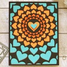DiyArts Cobweb Heart Metal Cutting Dies New 2019 for Craft Scrapbooking Die Cut Stitch Stencil Decoration