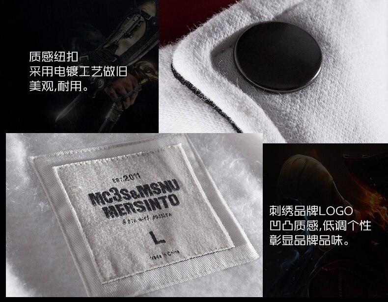 Jaqueta Assassin's Creed game hoodie unisex zíper jaqueta rua moda impressão hoodie com capuz assassino para meninos mais tamanho s-