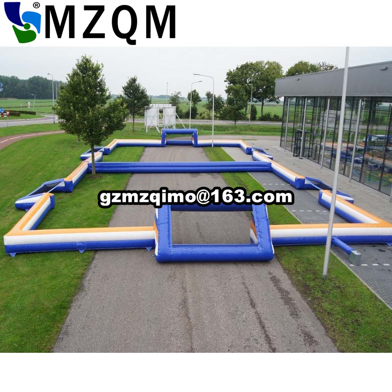 free air ship to door,Commercial giant adults inflatable rugby soccer pitch court,inflatable football field