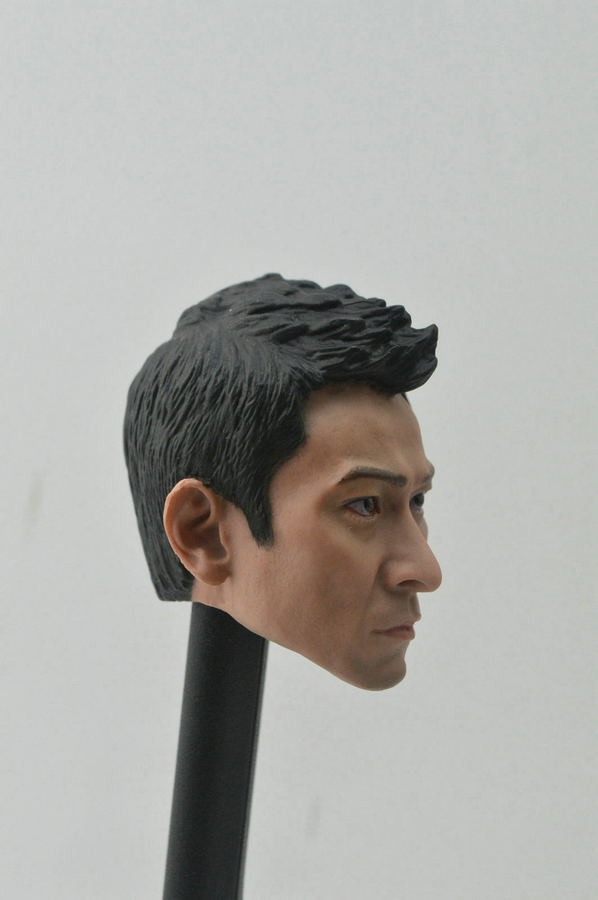 """1//6 Scale Andy Lau Head Sculpt Lau Tak Wah I Want to Be You fit 12/"""" body figure"""