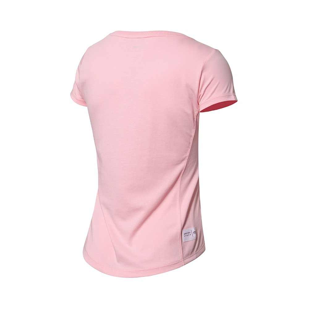 (Break Code) li-Ning Vrouwen De Trend Sport T-shirt 64% Katoen 36% Polyester Voering Li Ning Comfort Sport Tee Tops AHSN088 WTS1375