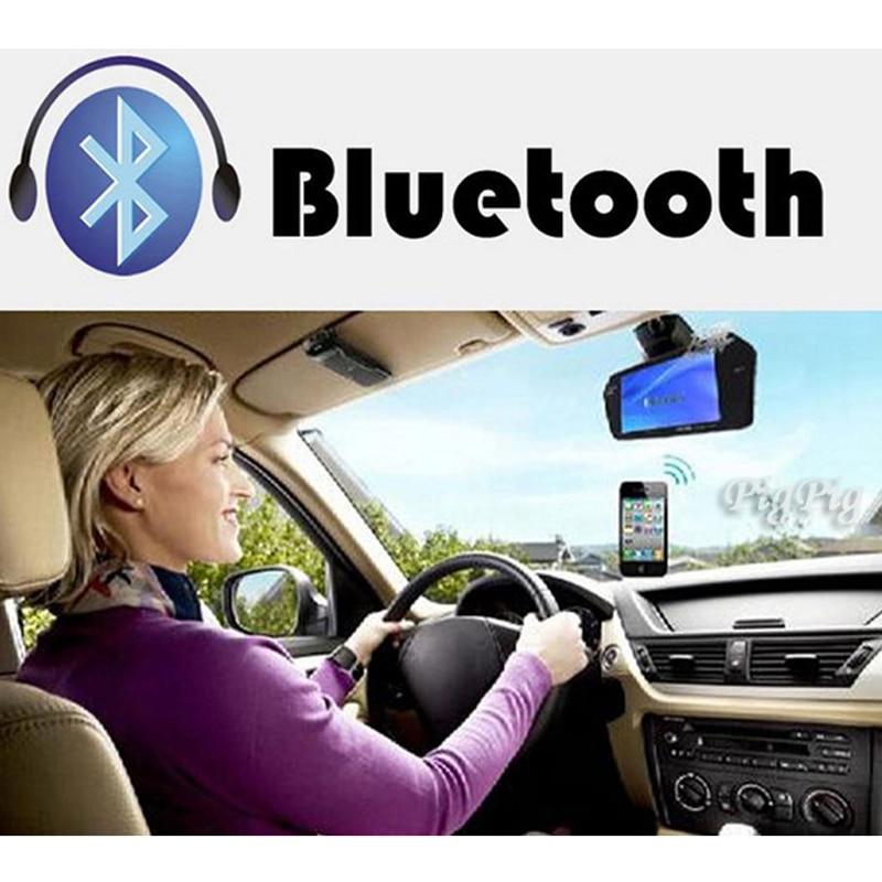 Koorinwoo UE Multimedia 1024 p HD 7 MP5 Monitor Espelho Do Bluetooth retrovisor Do Carro da câmera de Vídeo de Alarme Buzzer Parktronic sensores - 3
