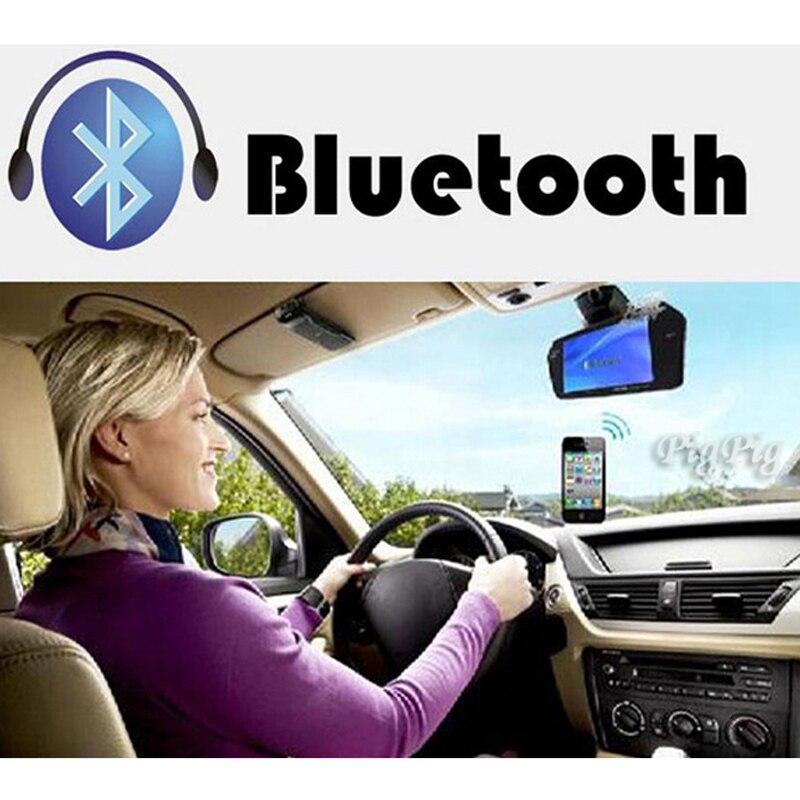 Koorinwoo UE Multimedia 1024 p HD 7 Monitor Dello Specchio di Bluetooth MP5 Video Macchina fotografica di retrovisione Parktronic Cicalino di Allarme sensori - 3