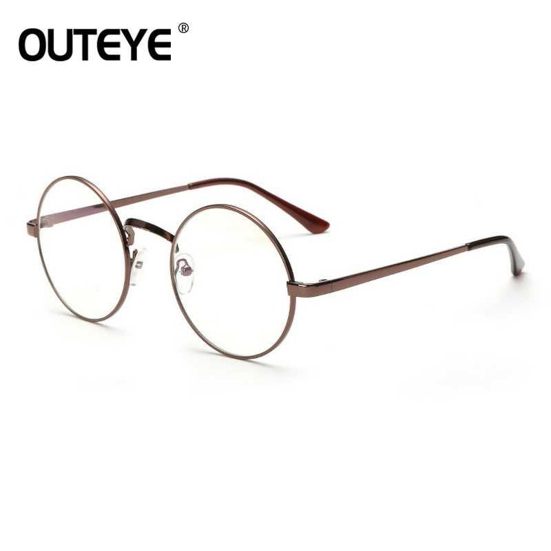 a4f3fff81d8 ... Retro Round Eyewear Clear Glasses Spectacles Optical Eye Glasses Frames  For Women Transparent Eyeglasses Frame Fake ...