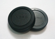 10 Pairs camera Body cap + Rear Lens Cap for  Micro M4/3 m43 Olympus Panasonic GF1/GF2/GF3  with tracking number