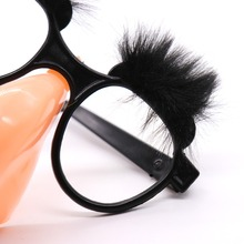 Funny Eyebrow Nose With Mustache Costume Party, Old Man Glasses Halloween Birthday Party Decoration Props