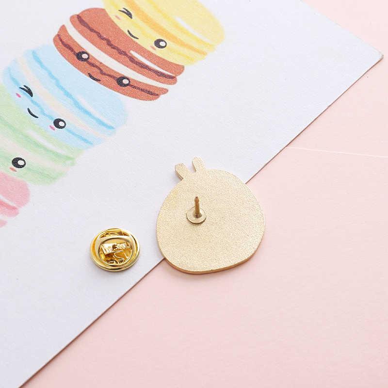 Nhật Bản Ramen Pin Gửi Yêu Thương Mì Hồng Bát Men Chân Xòe Nữ Món Ăn Ngon Lapel Pin Huy Hiệu Hình Cô Gái Dễ Thương Phong Cách bộ Trang Sức