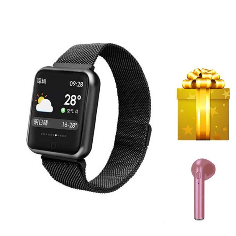 Fitness tracker 2019 women wristwatch smart watch blood pressure heart rate monitor VS ID115 plus Y5