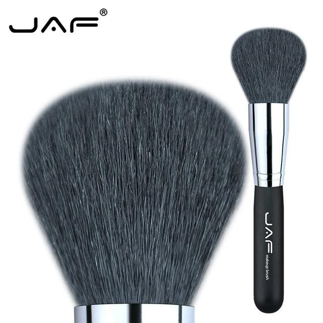 5% 1 piezas cabra individuales pinceles de maquillaje en polvo Escovas envío rápido 18GKY cepillo