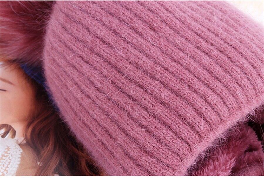 lã de veludo chapéu de bola de