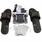 Двойной Электронный Импульсный сглаживающий массажный терапевтический прибор физиотерапевтический инструмент с пластиковыми массажными... - 1