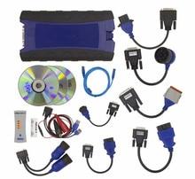 2017 NEXIQ USB Link Diesel Truck Диагностический Инструмент С Полным Набором NEXIQ 2 USB Link С Программным Обеспечением Heavy duty truck сканер DHL бесплатно