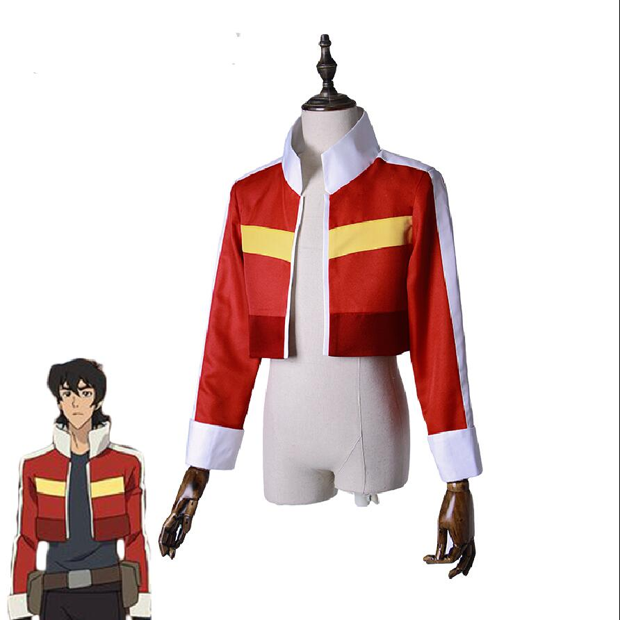 Voltron: Legendary Defender Keith Jacket Top Coat Adult Cosplay Costume Custom make XXS-5xxxxl