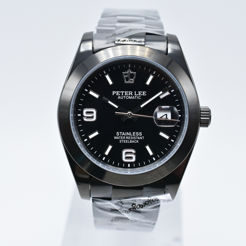 HTB1XXGSXrZnBKNjSZFhq6A.oXXan Silver Watch | Fashion PETER LEE Nautilus | Brand Luxury Full Steel Bracelet Waterproof Automatic Mechanical Business Clocks Classic Dial 38mm Mens Watch