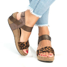 a8eed04cd6e1 Buy strappy wedge sandals and get free shipping on AliExpress.com