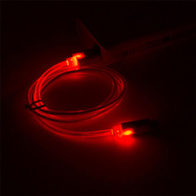 1M LED Light Micro USB Cable Charger Data Sync Cord For Android Phone Drop Shipping MOSUNX Futural Digital F35