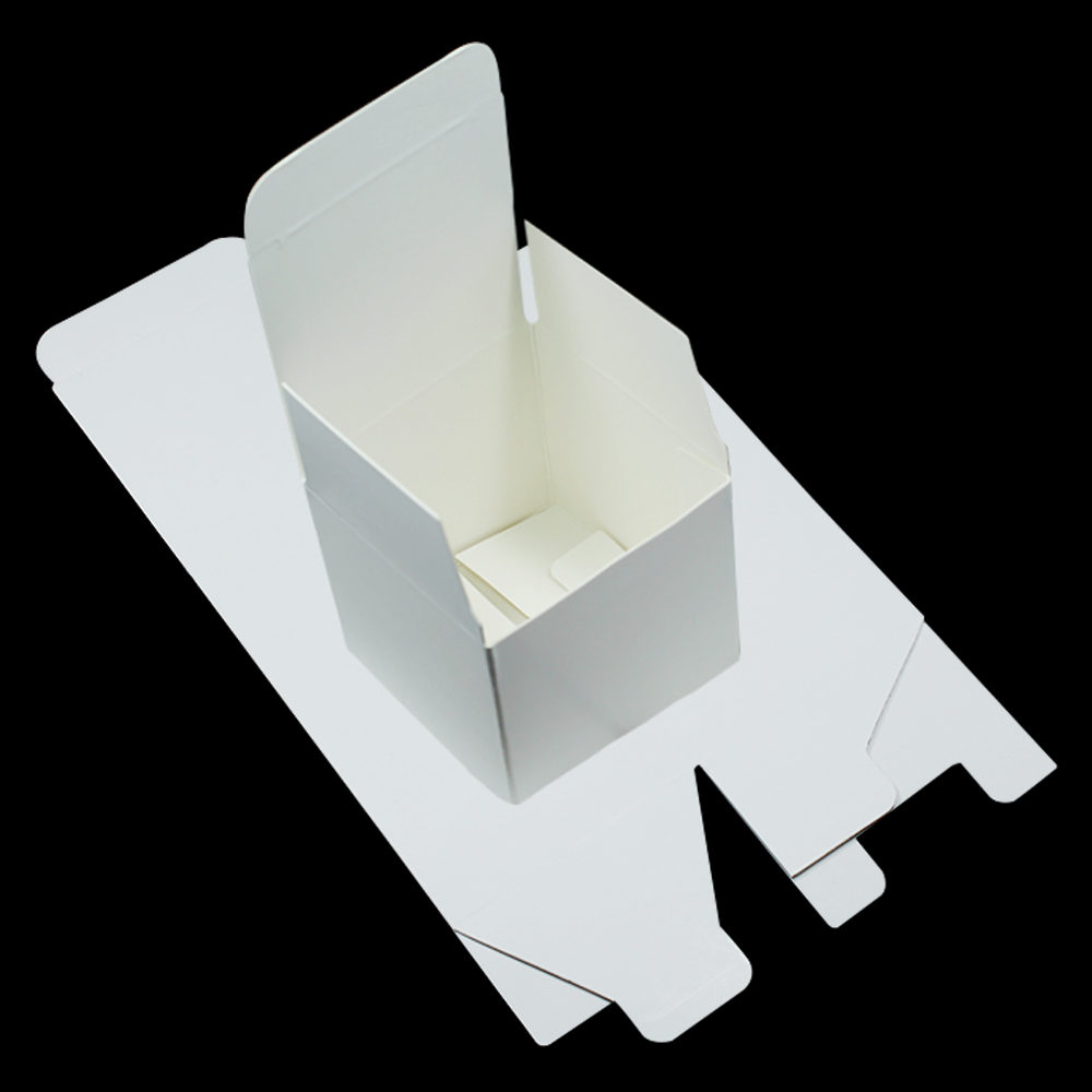 10*10*10cm White Cardboard Packaging Boxes [ 100 Piece Lot ] 4