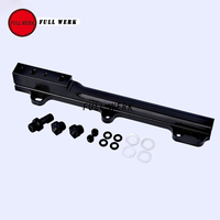 High Volume Black Fuel Rail for Honda D Series Engines D15B7 D15B8 D16A6 D16Z6 Fuel Rail Kit Fuel Supply
