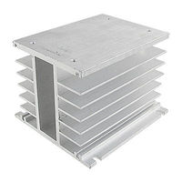 Aluminum Heat Sink For Solid State Relay SSR Heat Dissipation Three 3 Phase