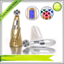 Needle Free LED Electroporation Mesotherapy EMS RF Vibrating Beauty System Machine Portable For Skin Lifting Tightening