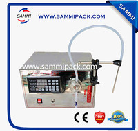 Free Shipping Cheap Semi Automatic Liquid Filling Machine Magnetic Pump Mineral Oil Filling Machinery