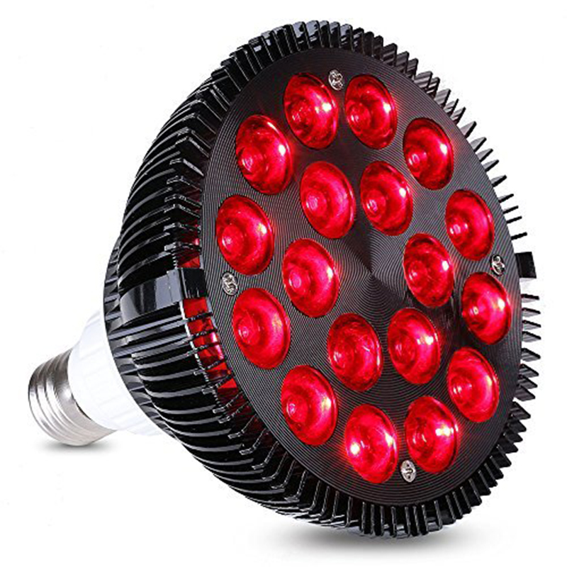 Grow Spectrum 36W All Deep Red 660nm LED Grow Light Bulb for Indoor Plants Flowering Bloom and Fruiting Enhancement Led Lamp