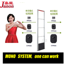 MONO EAS SYSTEM,RF8.2Mhz shoplifting prevention system,one door can work,most easier to install,sound and light alarm eas system